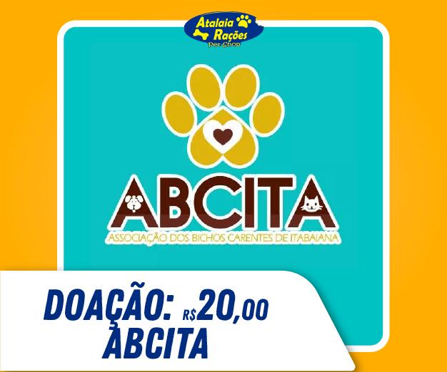 Doação de R$20,00 - ABCITA