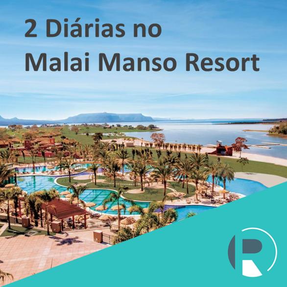2 Diárias no Malai Manso Resort
