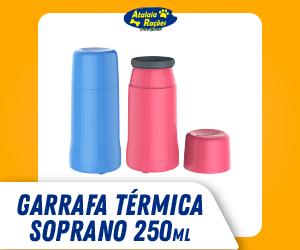 GARRAFA TÉRMICA DE MESA 250 ML SOPRANO