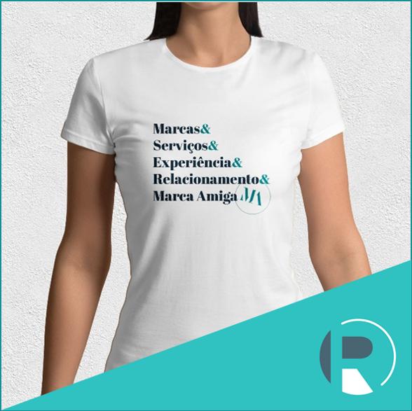 Camiseta Marca Amiga - Tamanho M