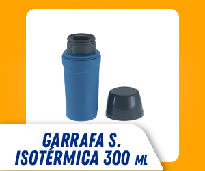 GARRAFA ISOTÉRMICA 300 ML SOPRANO
