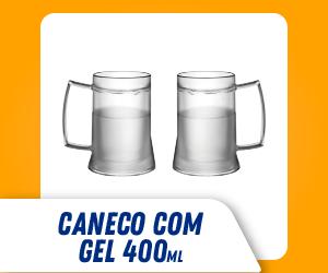 CANECO TÉRMICO COM GEL 400 ML SOPRANO