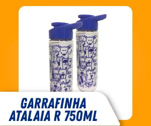 GARRAFINHA PERSONALIZADA ATALAIA RAÇÕES