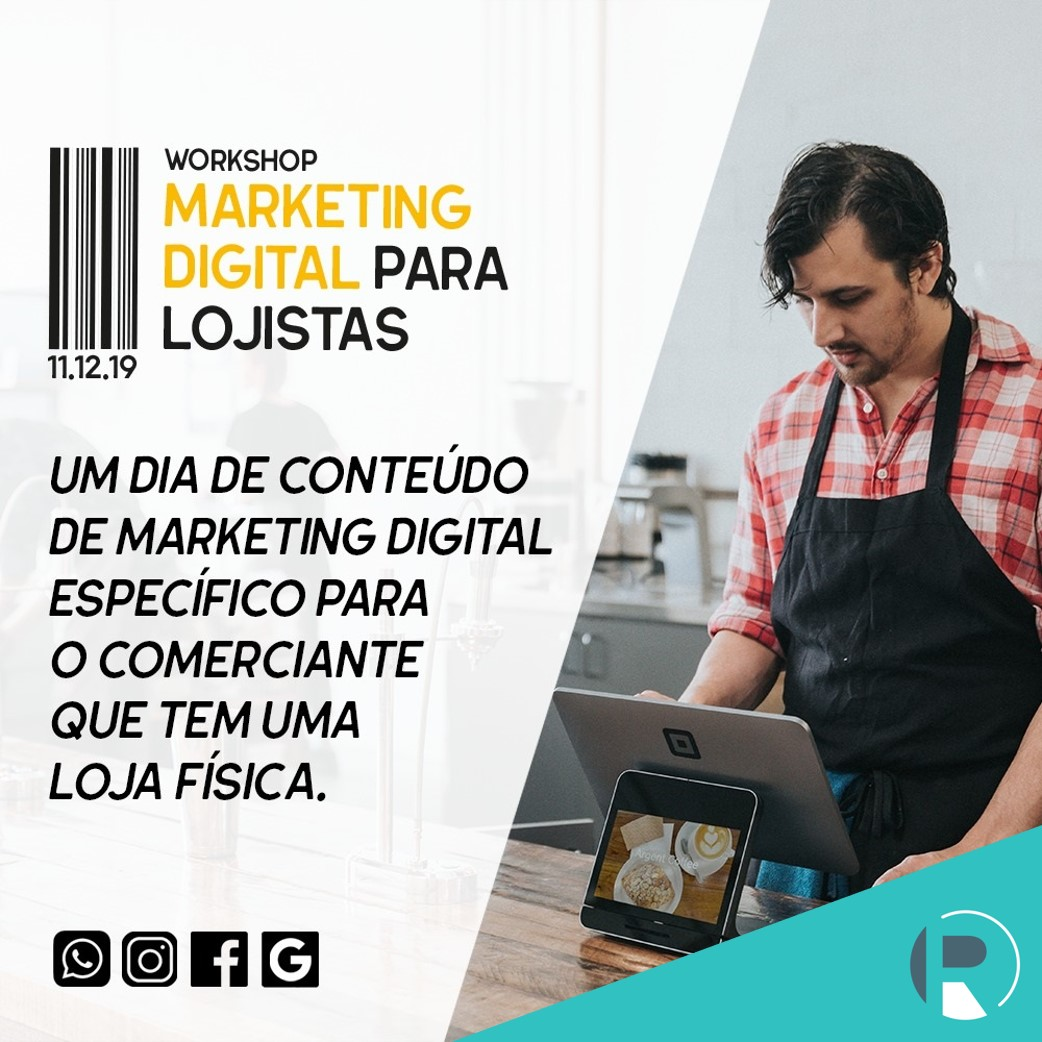 Curso Marketing Digital Para Lojistas