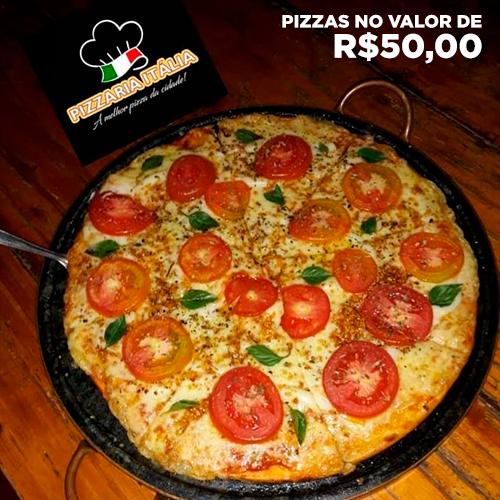 Pizza - Itália Restaurante e Pizzaria