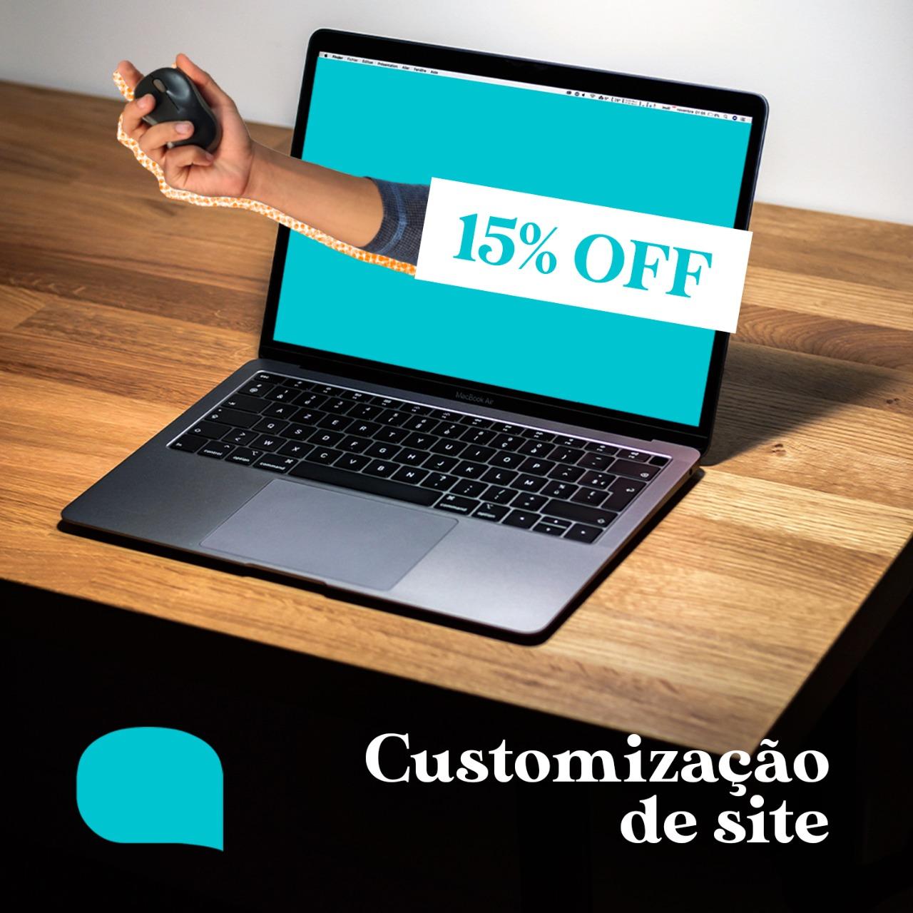 Customização de site