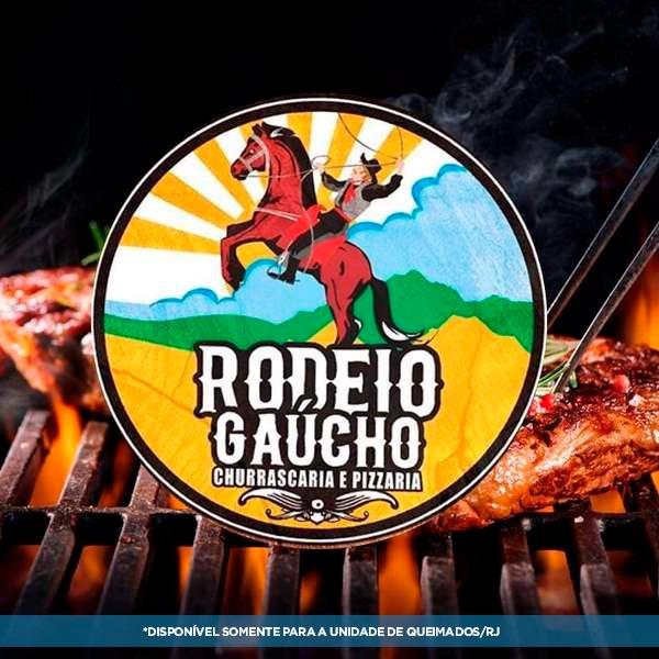 Rodízio Completo - Churrascaria Rodeio do Gaúcho (02 pessoas)