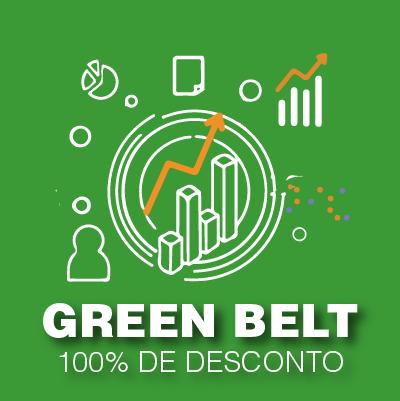100% de Desconto Green Belt Presencial