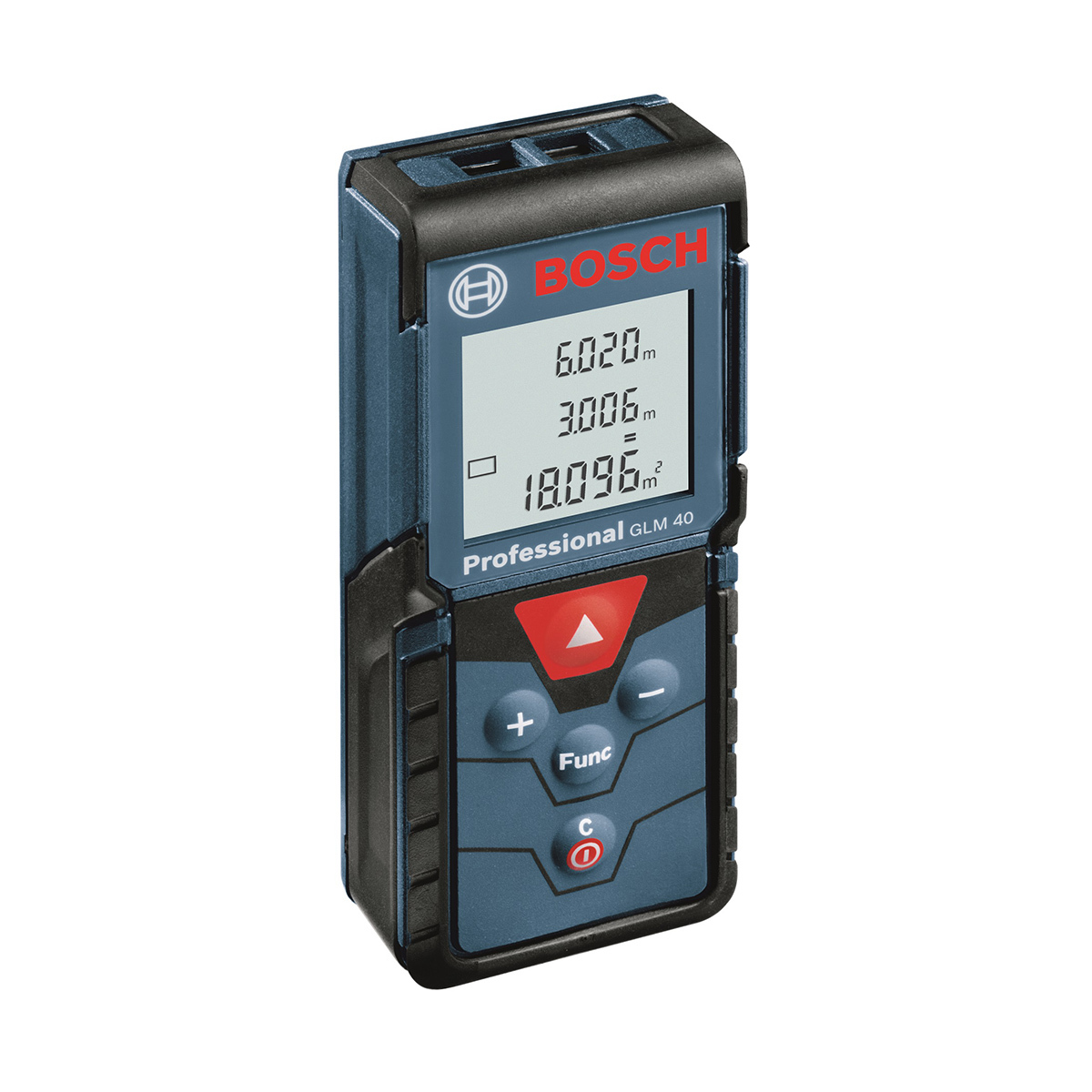 Trena a Laser Bosch 40m GLM40 Azul e Preta