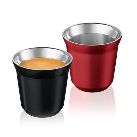 Xícaras PIXIE Espresso, Ristretto & Decaffeinato