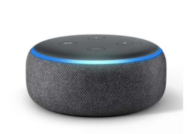 Smart Speaker Amazon com Alexa Preto - ECHO DOT