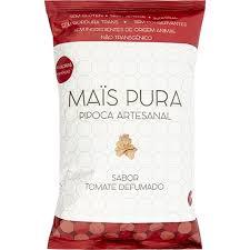 Pipoca Mais Pura sabor TOMATE DEFUMADO 50G