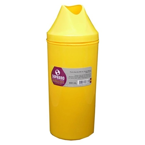 Porta Garrafa da cor amarela 1 litro - 350 Pontos