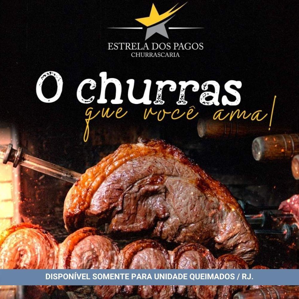 Rodízio Churrasco - Churrascaria Estrela dos Pagos (02 pessoas)
