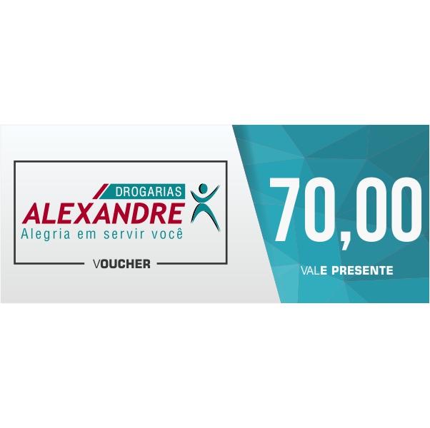 Vale presente R$ 70,00