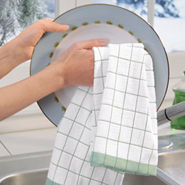 how to dispense dishcloth