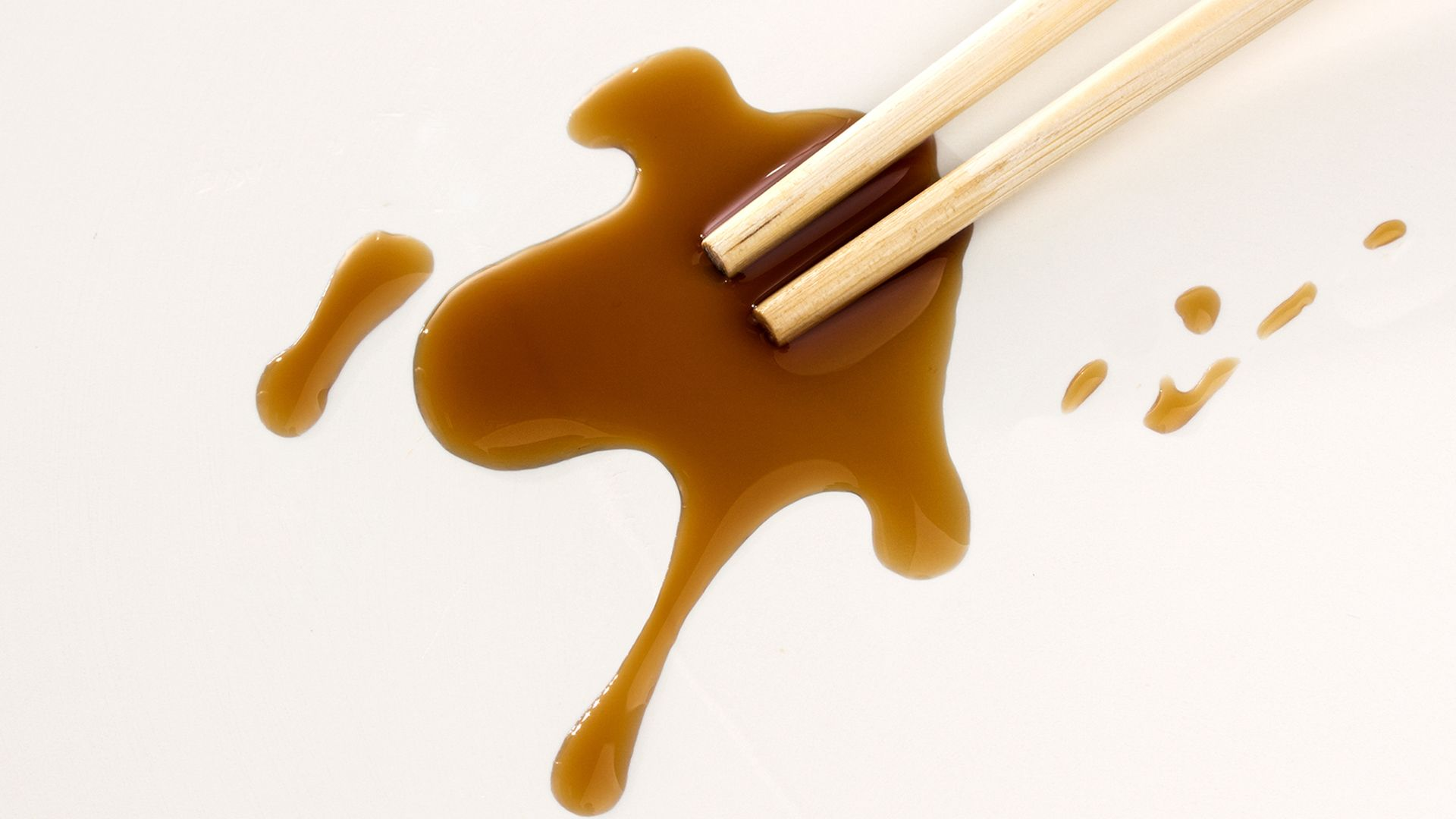 how to take off soy sauce stain