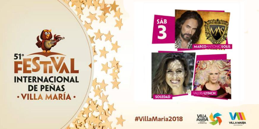 Festival Internacional de Peñas Villa Maria 2018
