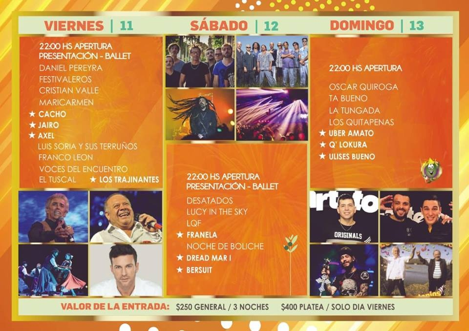 Grilla Fiesta Olivo 2019