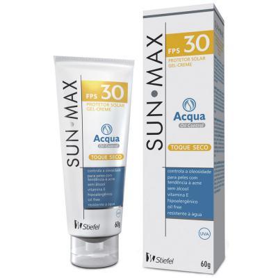 Imagem 1 do produto Protetor Solar Sunmax Acqua Oil Control FPS 30 Stiefel 60g