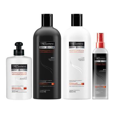 Imagem 1 do produto Kit Tresemmé Perfeitamente (Des)arrumado Shampoo + Condicionador + Creme para pentear + Spray Texturizador