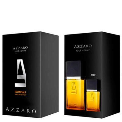 Imagem 1 do produto Azzaro pour Homme Azzaro - Masculino - Eau de Toilette - Estojo de Perfume + Edt - Kit