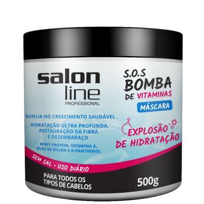 Imagem 1 do produto Máscara de Tratamento Salon Line Bomba de Vitaminas 500g