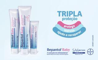 Bepantol Baby: Vai além da proteção