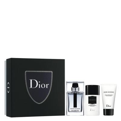 Dior Homme For Men Dior - Masculino - Eau De Toilette - Perfume + Pós-barba + Desodorante - Kit