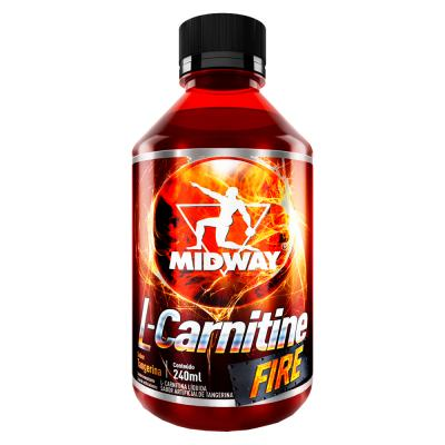 L-Carnitine Fire Midway Tangerina 240ml
