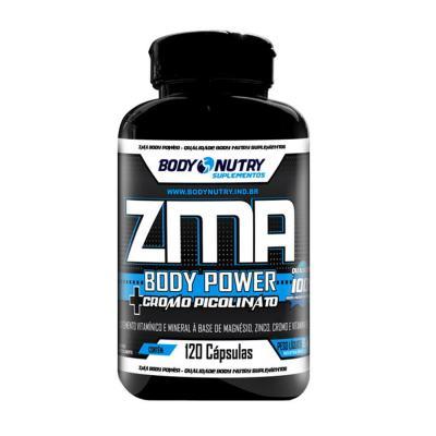 Zma + Cromo 120cps - Body Nutry - ZMA + CROMO 120CPS