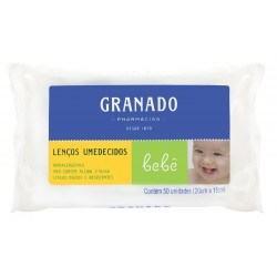 Lenços Umedecidos Granado Bebê Tradicional C/ 50 Unidades