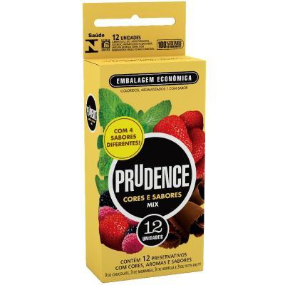 Imagem 1 do produto Preservativo Prudence Mix 12 Unidades