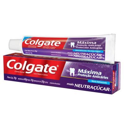 Creme Dental Colgate Neutraçúcar 70g