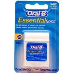 Fio Dental Oral-b Essential Floss Encerado 50m