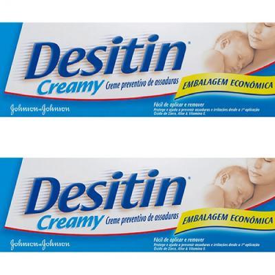 Imagem 1 do produto Creme Para Assaduras Johnson's Desitin Creamy 113g 2 Unidades