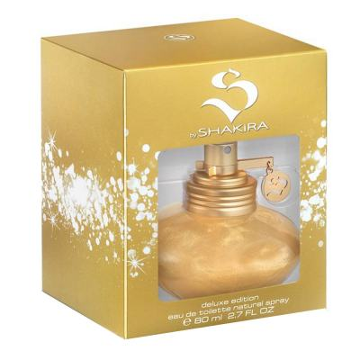 S By Shakira Glitter Edition Feminino Eau De Toilette - 80ml