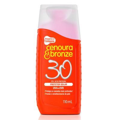 Imagem 2 do produto Kit Protetor Solar Cenoura & Bronze Fps 30 110ml + Facial Fps 50 50g
