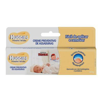 Imagem 3 do produto Kit Huggies Primeiros 100 Dias Fralda Descartável P 36 Unidades + Creme Preventivo De Assaduras 60g