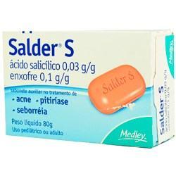 Imagem 1 do produto Sabonete Salder S 80g
