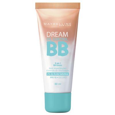 Base Maybelline Bb Cream Dream Oil Control Fps15 Escuro 30ml