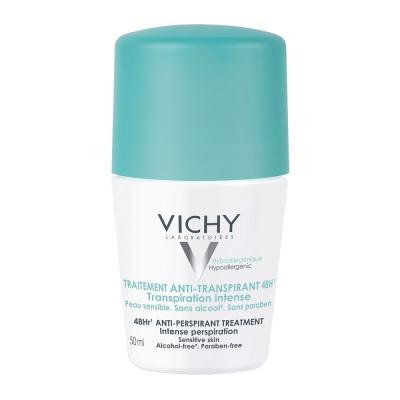 Desodorante Roll On Vichy Hipoalergênico Antitranspirante 48h 50ml