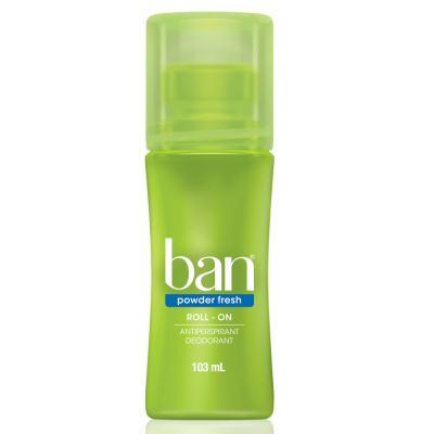Desodorante Ban Roll On Powder Fresh 103ml