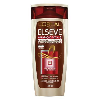 Elseve Reparação Total 5 Quimica L'oréal Paris - Shampoo - 400ml