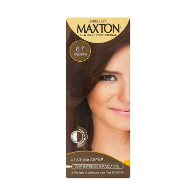 Kit Embelleze Tintura Prático Maxton 6.7 Chocolate
