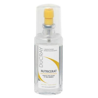 Imagem 1 do produto Nutricerat Fluido Reparador Ultranutritivo Ducray - Leave-In para Cabelos Secos e Danificados - 75ml