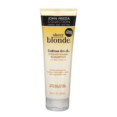 John Frieda Sheer Blonde Lustrous Touch Strengthening - Shampoo - 250ml