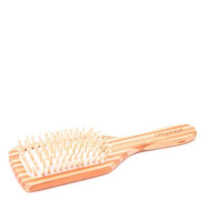 Escova de Bambu Quadrada Orgânica - Escova de Cabelo - 1 Unidade