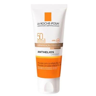 Anthelios Unifiant Mousse Fps 50 La Roche Posay - Protetor Solar Facial com Cor - Universal