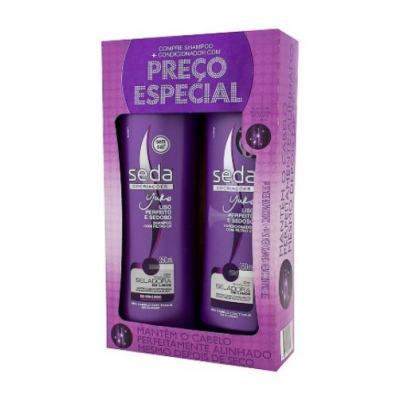 Shampoo + Condicionador Seda Liso Perfeito 325ml